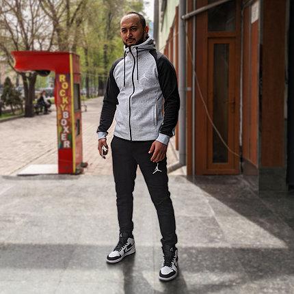 Спортивный костюм Air Jordan Gray\Black, фото 2