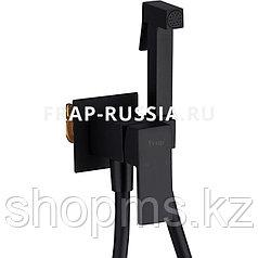 Смеситель гигиенический душ Frap F7506-6 чёрный