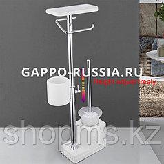 Ёршик для унитаза с полкой Gappo G902-1