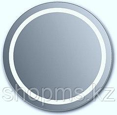 Зеркало с вн. подсветкой откр. короб из ЛДСП Новая Грань 0730 с крепл. СЕНСОР (600*600)