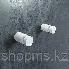 Комплект одинарных крючков Petite, белый матовый