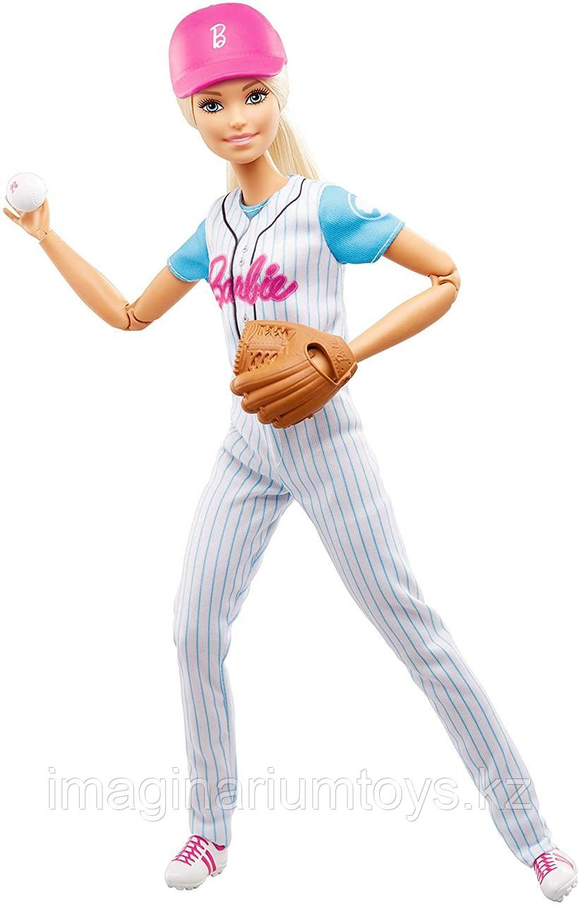 Кукла Барби Полная подвижность Бейсболистка