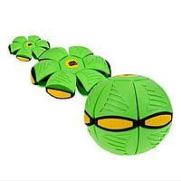 Мяч для игры в фрисби (похож на тарелку НЛО, светящийся)