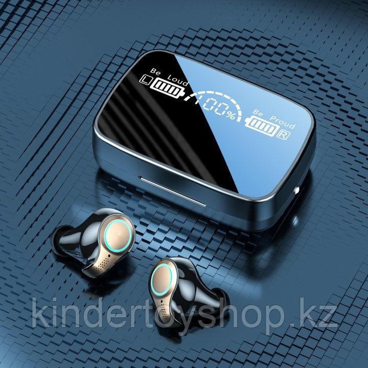 Беспроводные наушники AirPods M18 TWS Bluetooth 5,1 аирподс 3500 мп с Power Bank