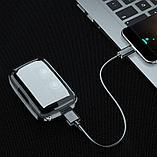 Беспроводные наушники AirPods M18 TWS Bluetooth 5,1 аирподс 3500 мп с Power Bank, фото 4