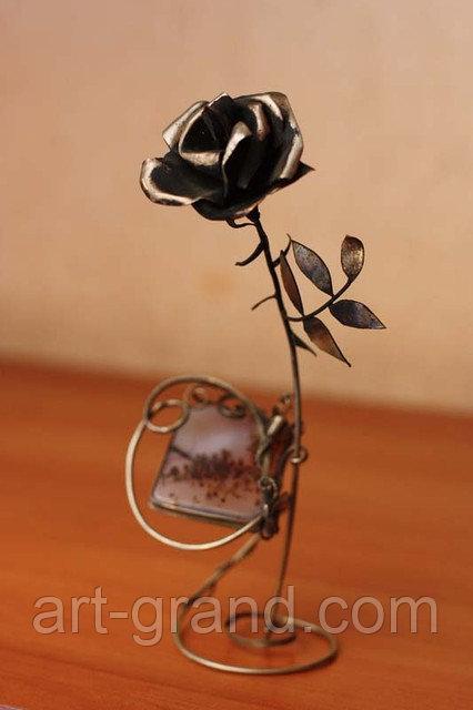 Роза с агатом