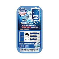 Тканевая маска для упругости кожи с экстрактом черной икры Medi-Peel Aqua Ultra Deep Ampoule Mask
