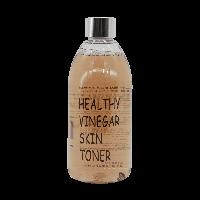 Слабокислотный тоник с соевыми бобами против морщин Realskin Healthy Vinegar Skin Toner (Black Bean)