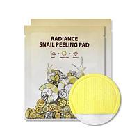 Очищающая пилинг-салфетка SeaNtree Radiance Snail Peeling Pad