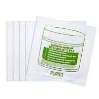 Пилинг-диски с центеллой Purito Centella Green Level All In One Mild Pad