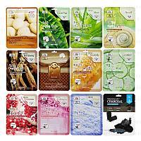 Тканевые маски 3W CLINIC Fresh Mask Sheet