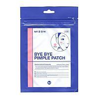 Противовоспалительные локальные патчи от прыщей Mizon Bye Bye Pimple Patch