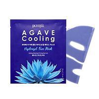 Охлаждающая гидрогелевая маска с экстрактом агавы Petitfee Agave Cooling Hydrogel Face Mask