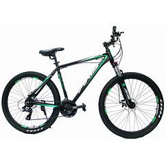 Горный велосипед AXIS 27.5 MD Black Green (2021)