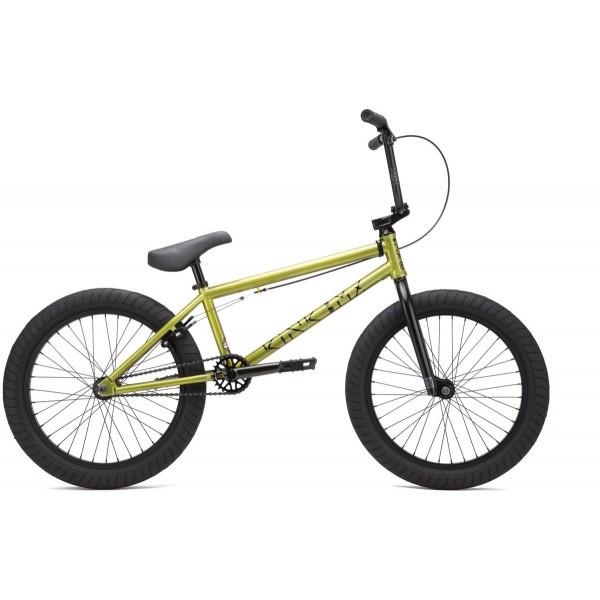 """BMX Велосипед Kink Launch 20.25"""" (2021) digital lime"""