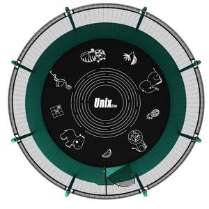 Батут UNIX line SUPREME GAME 10 ft (green) - фото 3