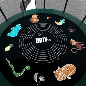 Батут UNIX line SUPREME GAME 10 ft (green) - фото 5