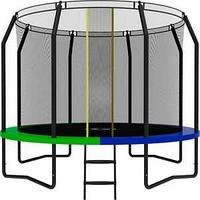 Батут SWOLLEN Prime Black 10 FT диаметр 305 см