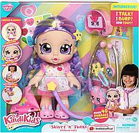 Кукла Kindi Kids доктор интерактивная с аксессуарами, фото 1