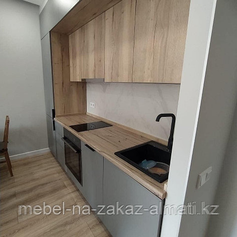 Кухонные гарнитуры на заказ безручек, фото 2