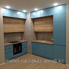 Кухонные гарнитуры на заказ безручек, фото 3
