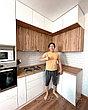 Кухонные гарнитуры на заказ безручек, фото 4