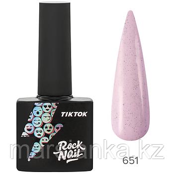Гель-лак RockNail Tik Tok #651, 10мл