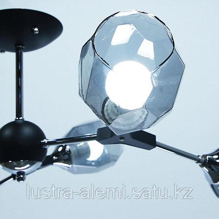 Люстра Hi-Tech 4209/6 BK+CH E27*6, фото 2