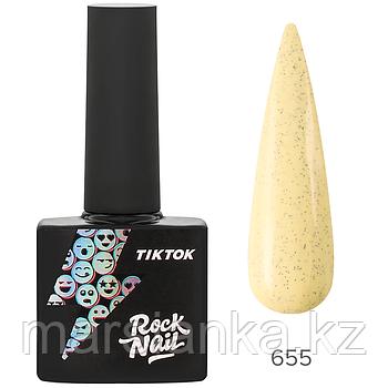 Гель-лак RockNail Tik Tok #655, 10мл
