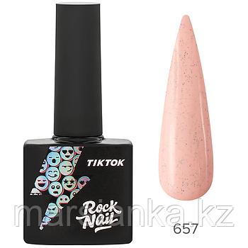 Гель-лак RockNail Tik Tok #657, 10мл