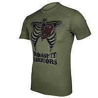 Тактическая тренировочная футболка «CrossFit Warriors»