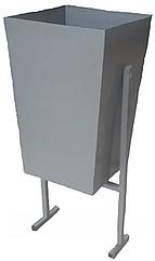 Урна металлическая под бетон (30л)