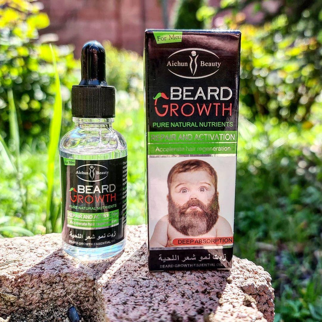 Сыворотка для роста бороды