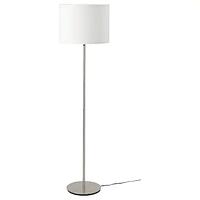 РИНГСТА  СКАФТЕТ Светильник напольный, белый/никелированный ИКЕА, IKEA