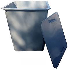 Мусорный контейнер 750 л с крышкой