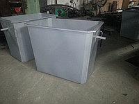 Контейнеры для ТБО 1,1 куб без крышки, без колес