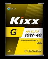 Моторное масло KIXX G SL 10w40 4L