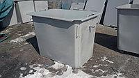 Контейнеры под мусор, баки 1,1 куба с крышкой, без колес
