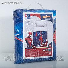 "Покрывало ""Человек паук"" 1,5 сп, 145х210 см, микрофибра, фото 3"