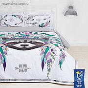 """Постельное бельё """"Этель"""" евро Indian style 200х217 см, 220х240 см, 50х70+3 см - 2 шт"""