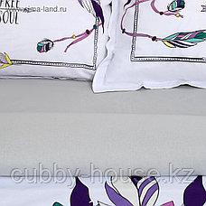 """Постельное бельё """"Этель"""" евро Indian style 200х217 см, 220х240 см, 50х70+3 см - 2 шт, фото 2"""