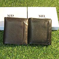 Мужское портмоне клатч кошелёк MD Collection модель S-43 Black и Coffe. Видео обзор в описании!