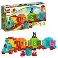 Конструктор LEGO Duplo Поезд Считай и играй 10847, фото 1