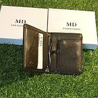 Мужское портмоне клатч кошелёк MD Collection модель S-42 Black и Coffe. Видео обзор в описании!