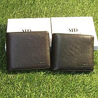Мужское портмоне клатч кошелёк MD Collection модель S-20 Black и Coffe. Видео обзор в описании!