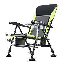Кресло фидерное Sneda, зеленое