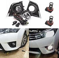 Комплект противотуманных фар на Toyota Corolla 2013-16