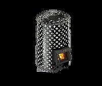 Дровяная печь для бани Grill D Violet Romb Short + жадеит 80 кг