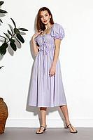 Женское летнее фиолетовое платье SODA 610 сирень 42р.