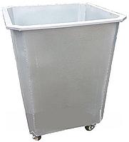 Оцинкованный контейнер 0,75 куб. с колесами